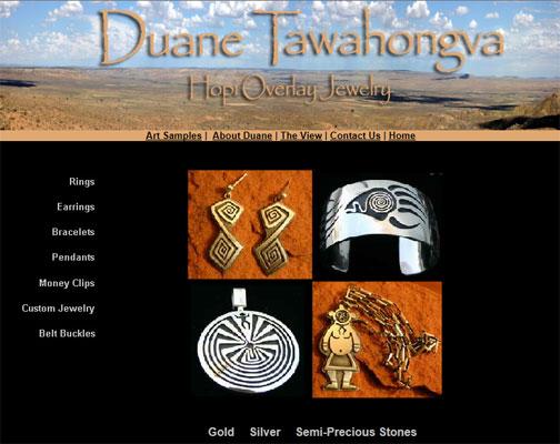 Duane Tawahongva, Hopi Artist